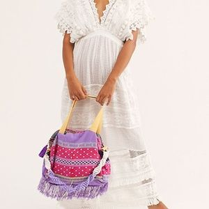 FP Tricia Fix Day Tripper Embroidered Tote